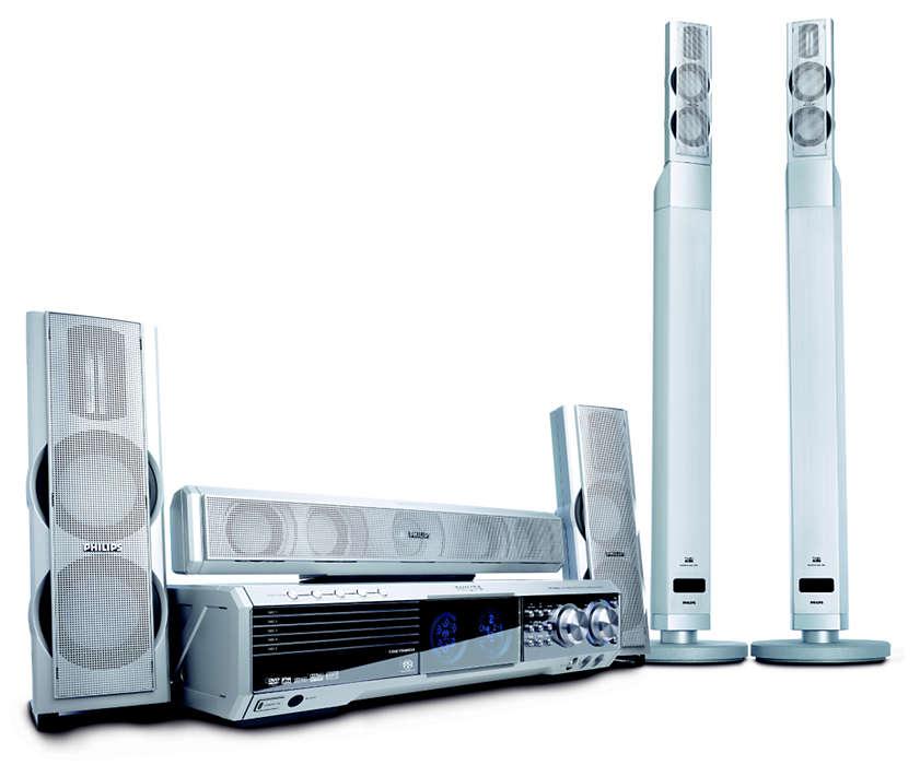 DVD/SACD home theater system MX5800SA/21R | Philips