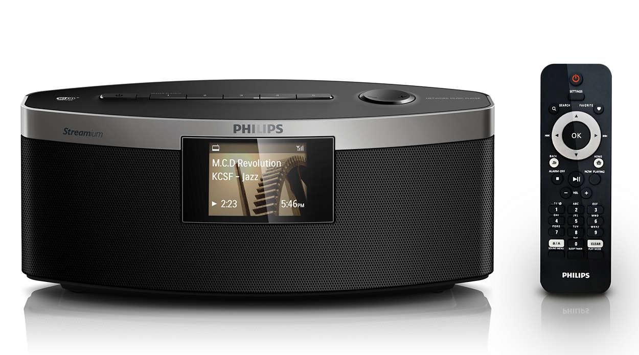 lecteur audio sans fil np3300 12 philips. Black Bedroom Furniture Sets. Home Design Ideas