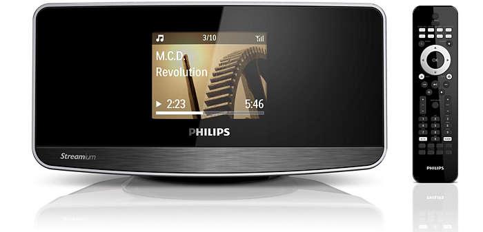 Streaming da PC/MAC e Internet in modalità wireless