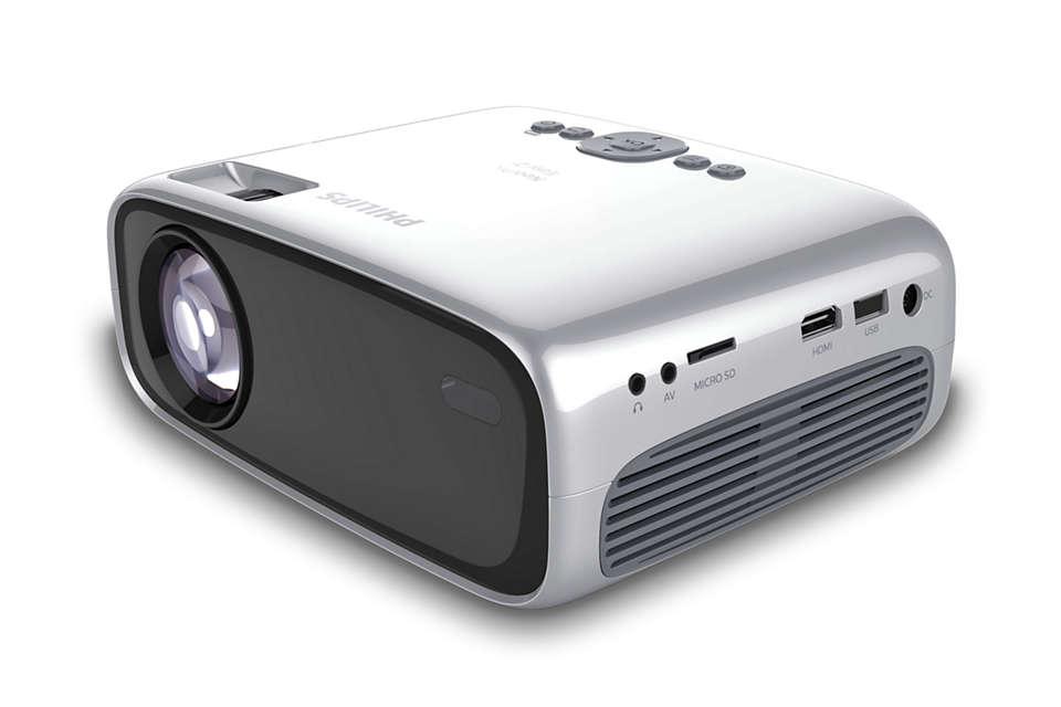HD-billede i en superkompakt projektor
