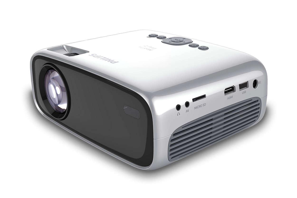 Gambar HD dalam proyektor super ringkas