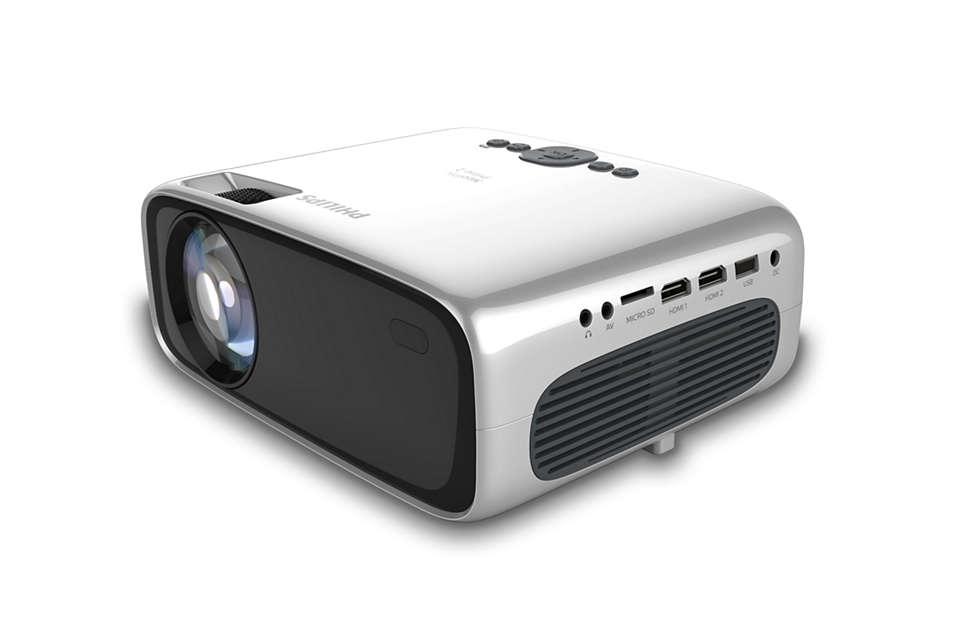 Pengalaman HD cerdas dalam proyektor super ringkas