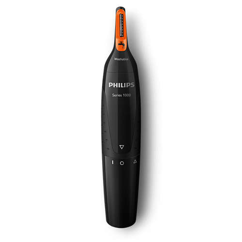 Nosetrimmer series 1000 Comfortable nose & ear trimmer