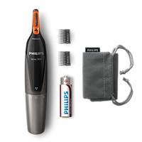 Nosetrimmer series 3000 Comfortable nose, ear and eyebrow trimmer