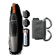 Nose trimmer series 3000 Tondeuse confortable nez, oreilles et sourcils