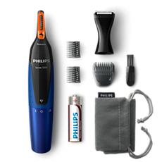 NT5175/16 -   Nosetrimmer series 5000 Gentle nose, neck & sideburns trimmer