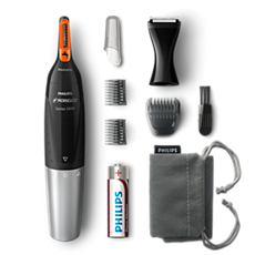 NT5175/49 Philips Norelco Nosetrimmer 5100 Facial hair precision trimmer