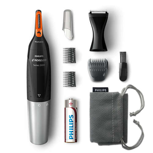 Norelco Nosetrimmer 5100 Facial hair precision trimmer