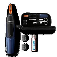 NT5180/15 Nose trimmer series 5000 Tondeuse nez-oreilles confortable et kit de manucure