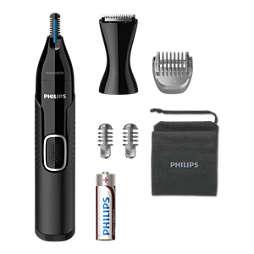 Nose trimmer series 5000 Nasenhaar-, Ohrenhaar-, Augenbrauen- & Detailtrimmer