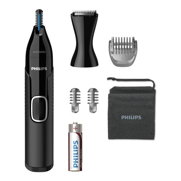 Philips NT5650/16 Nose Trimmer Series 5000 - Zastřihovač Chloupků V nose, Uších, Na Obočí - NT5650/16