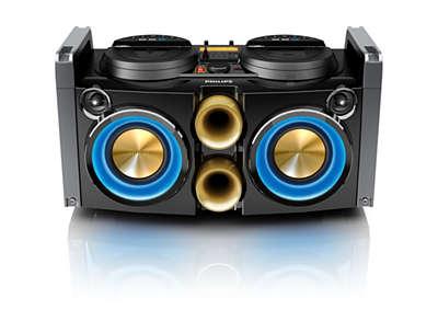 Mini Hi Fi System Ntrx100 12 Philips