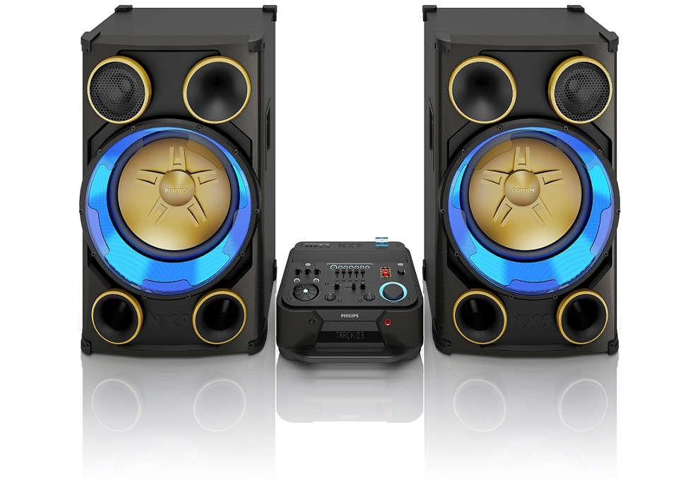 Profesionálne zvukové zariadenia