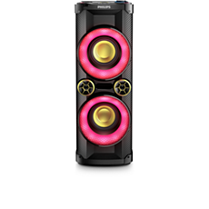 NTX400X/78  Sistema de alto-falantes