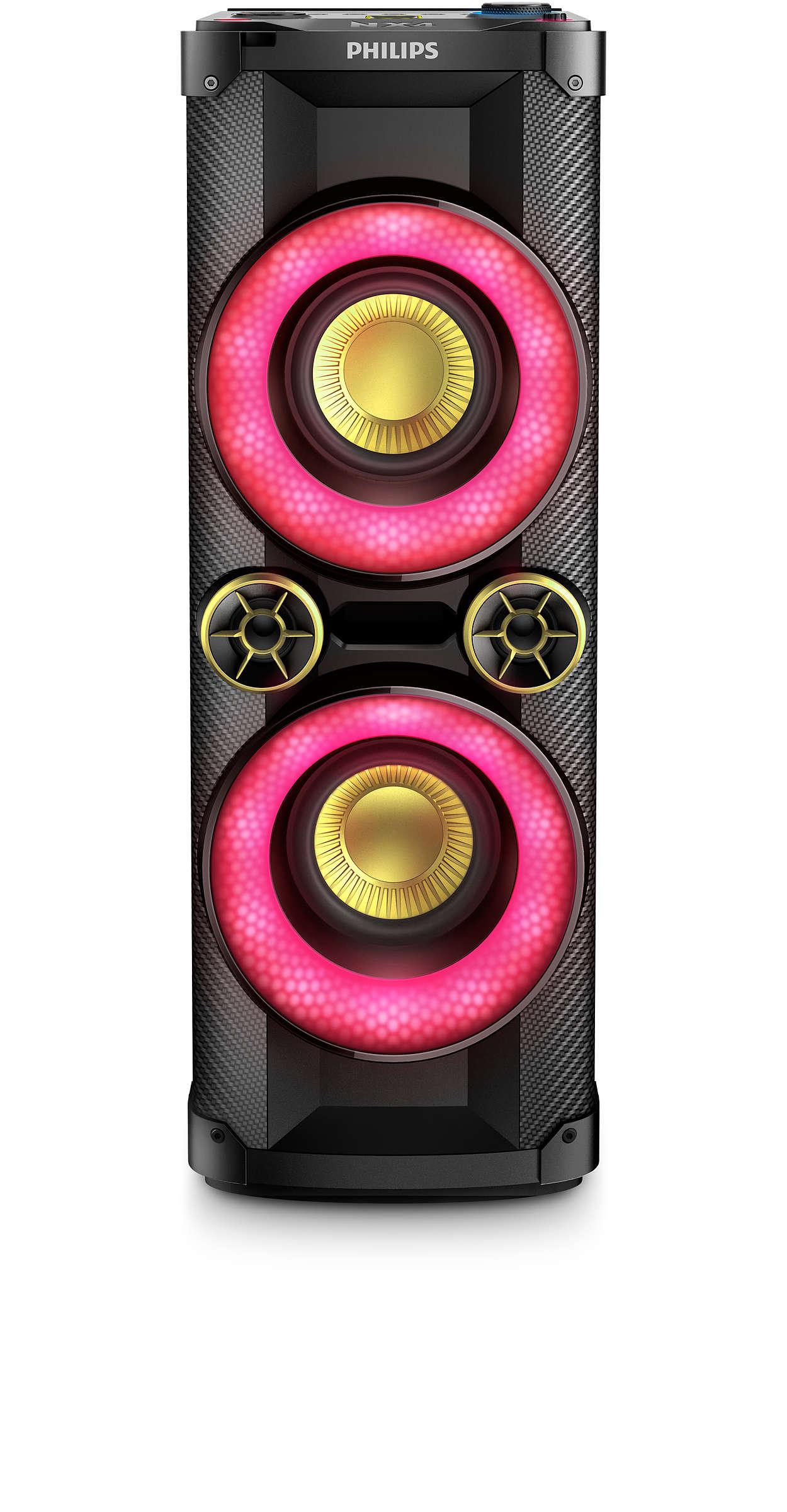 Speaker System Ntx400 79 Philips