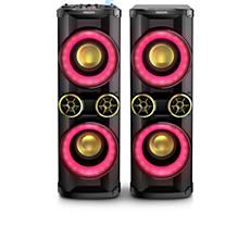NTX800X/78  Sistema de alto-falantes