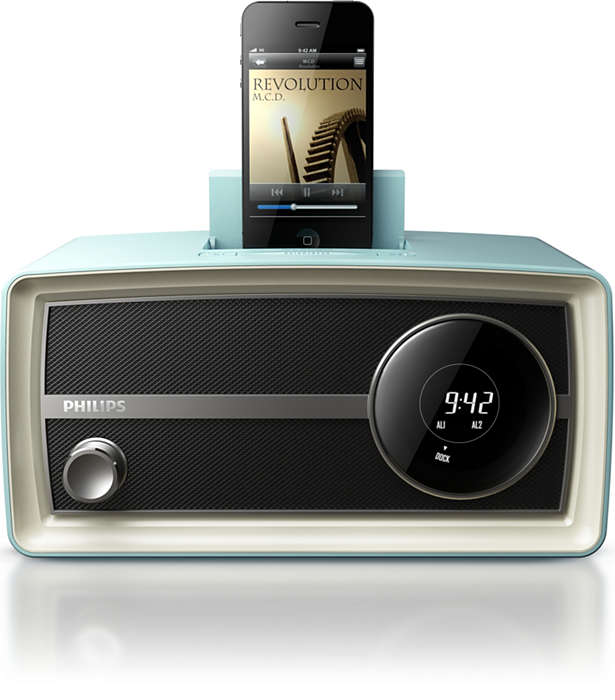 Marca tendencia con la minirradio Original de Philips