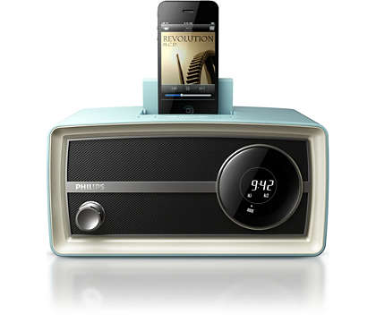 Marque a tendência com o mini rádio original