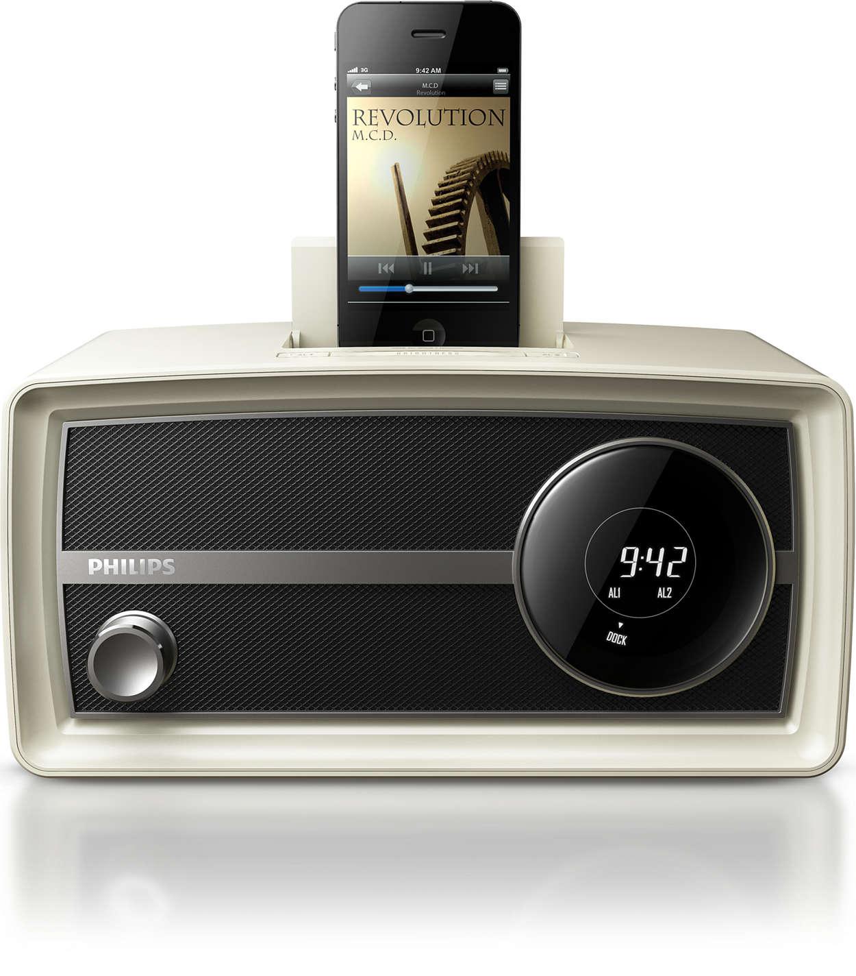 Setzen Sie Trends mit dem Original-Radio im Miniformat
