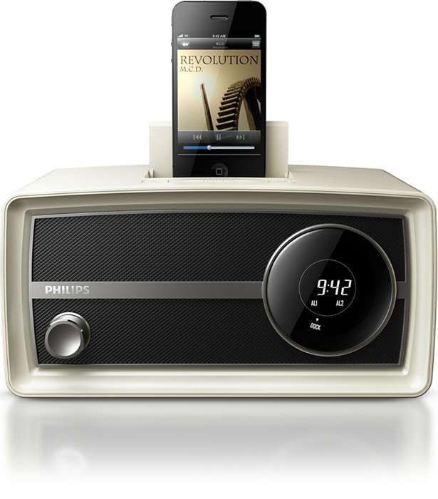 Lancez une mode avec cette mini-radio rétro