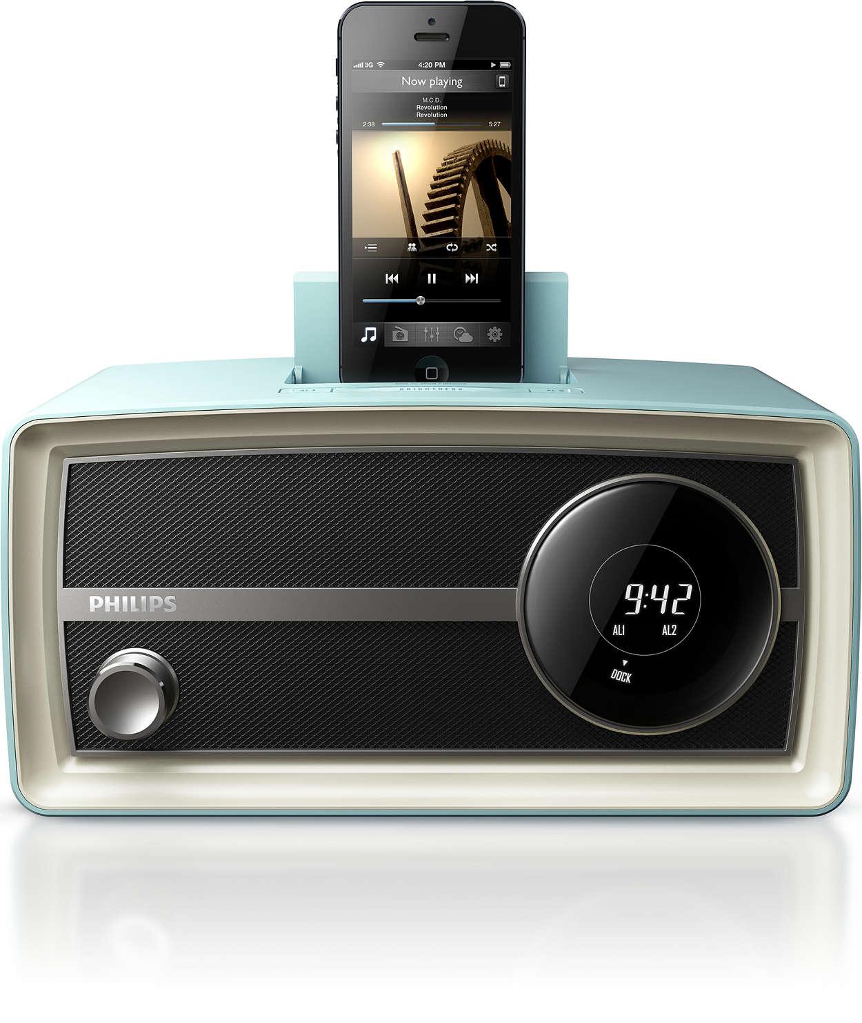 Стильное оригинальное мини-радио