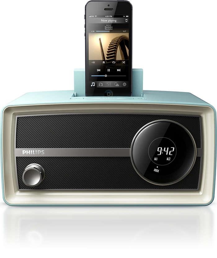 引領潮流的迷你原創收音機