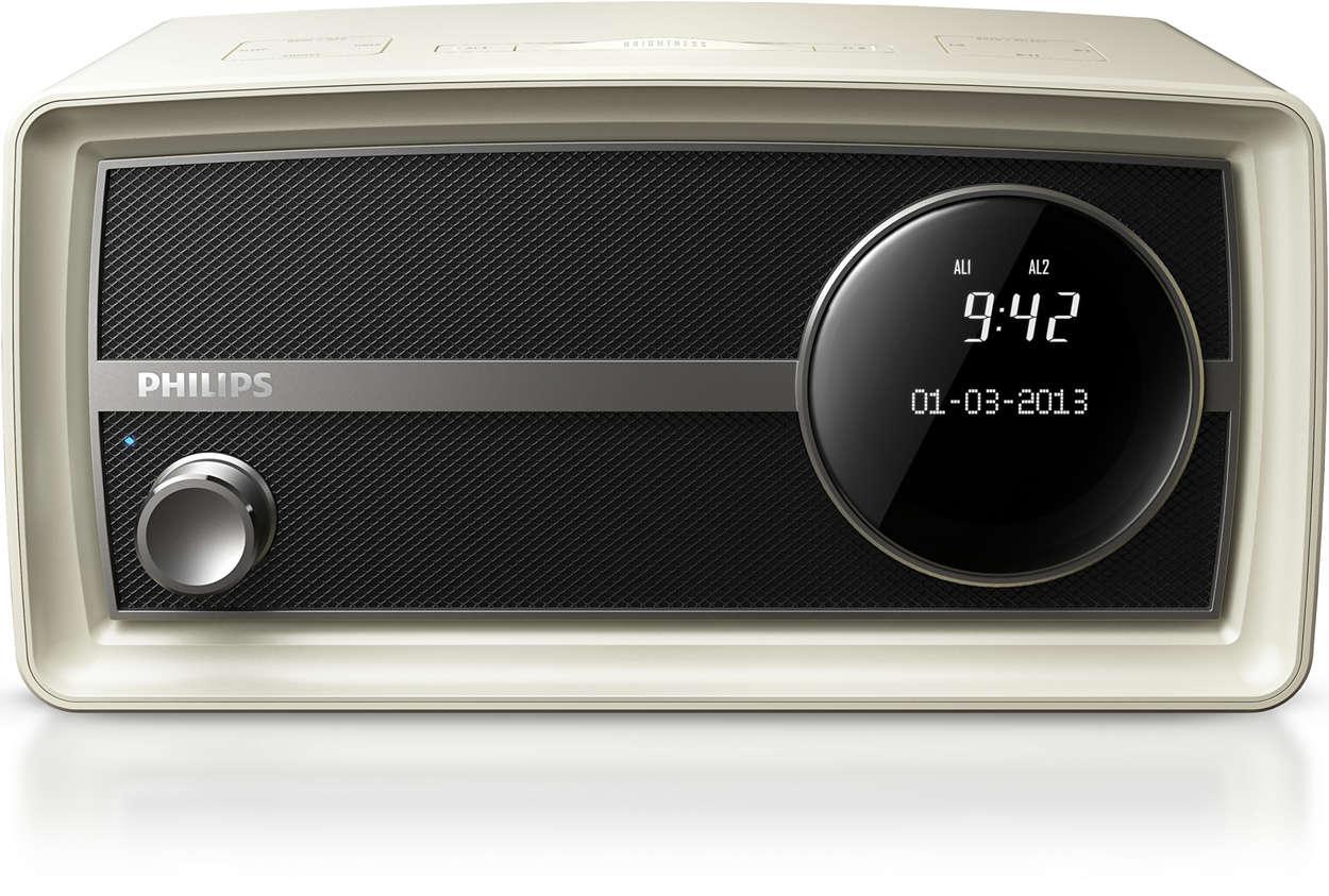 Contrôlez votre radio Vintage Mini sans fil
