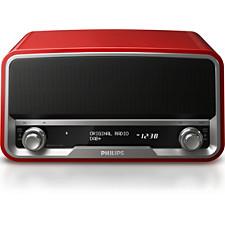 Rádio and budík