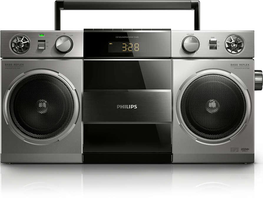 Retro stiliaus muzikos sistema