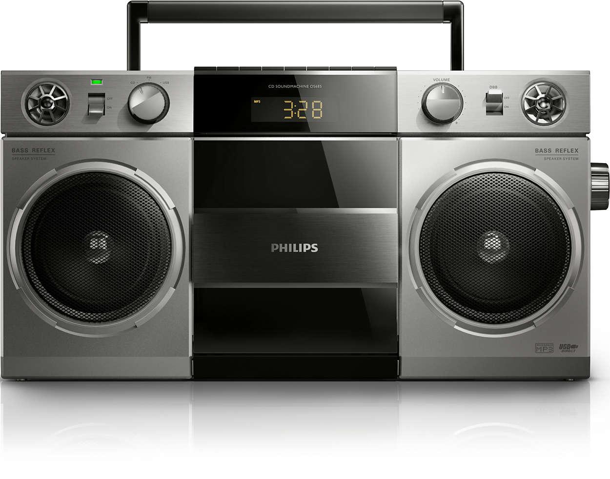 Retro stila mūzikas sistēma