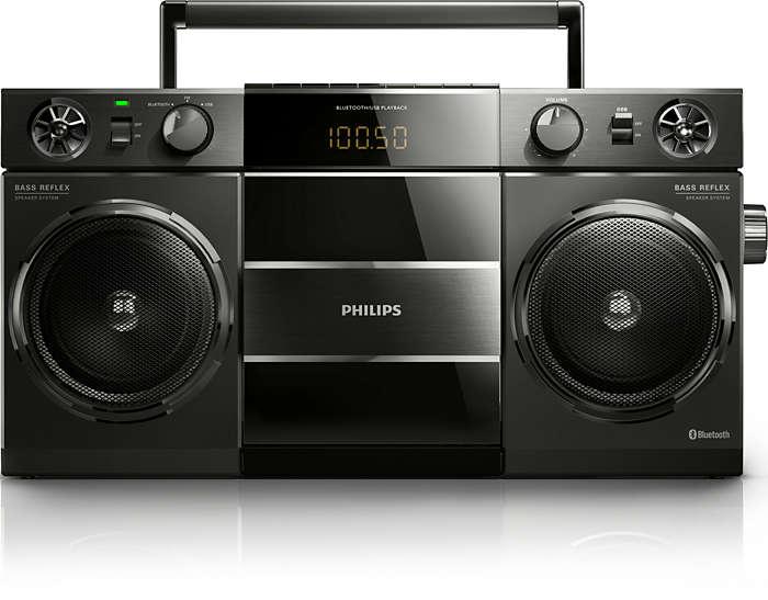 Musica dal tuo smartphone in modalità wireless
