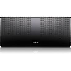 P8BLK/10 Philips Fidelio Premium Bluetooth-Lautsprecher mit Akku