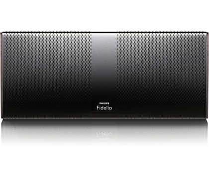 High fidelity sound made portable