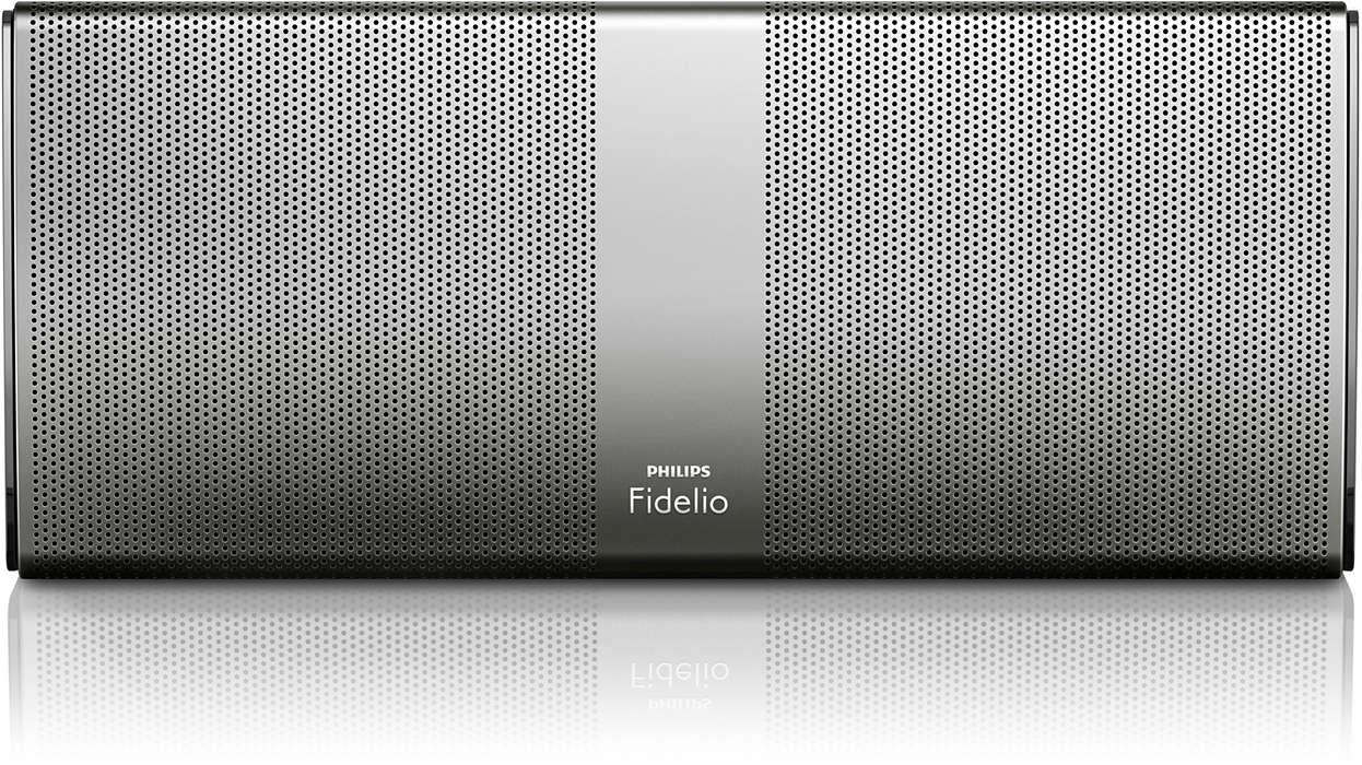 L'audio ad alta fedeltà è ora portatile