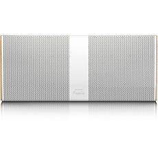 P9WHT/10 Philips Fidelio Tragbarer, kabelloser Lautsprecher