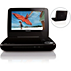 "Philips Portable DVD Player PD7000B 18cm/ 7"" LCD"