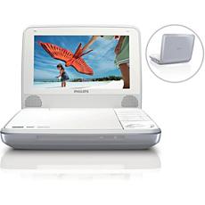 PD7000S/12  Reproductor de DVD portátil