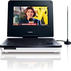 PD7007/55  Reproductor de DVD portátil