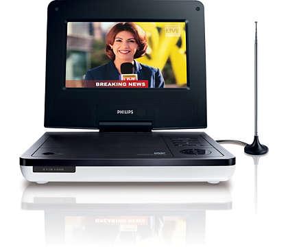 Disfruta de tus DVD y programas de TV favoritos estés donde estés