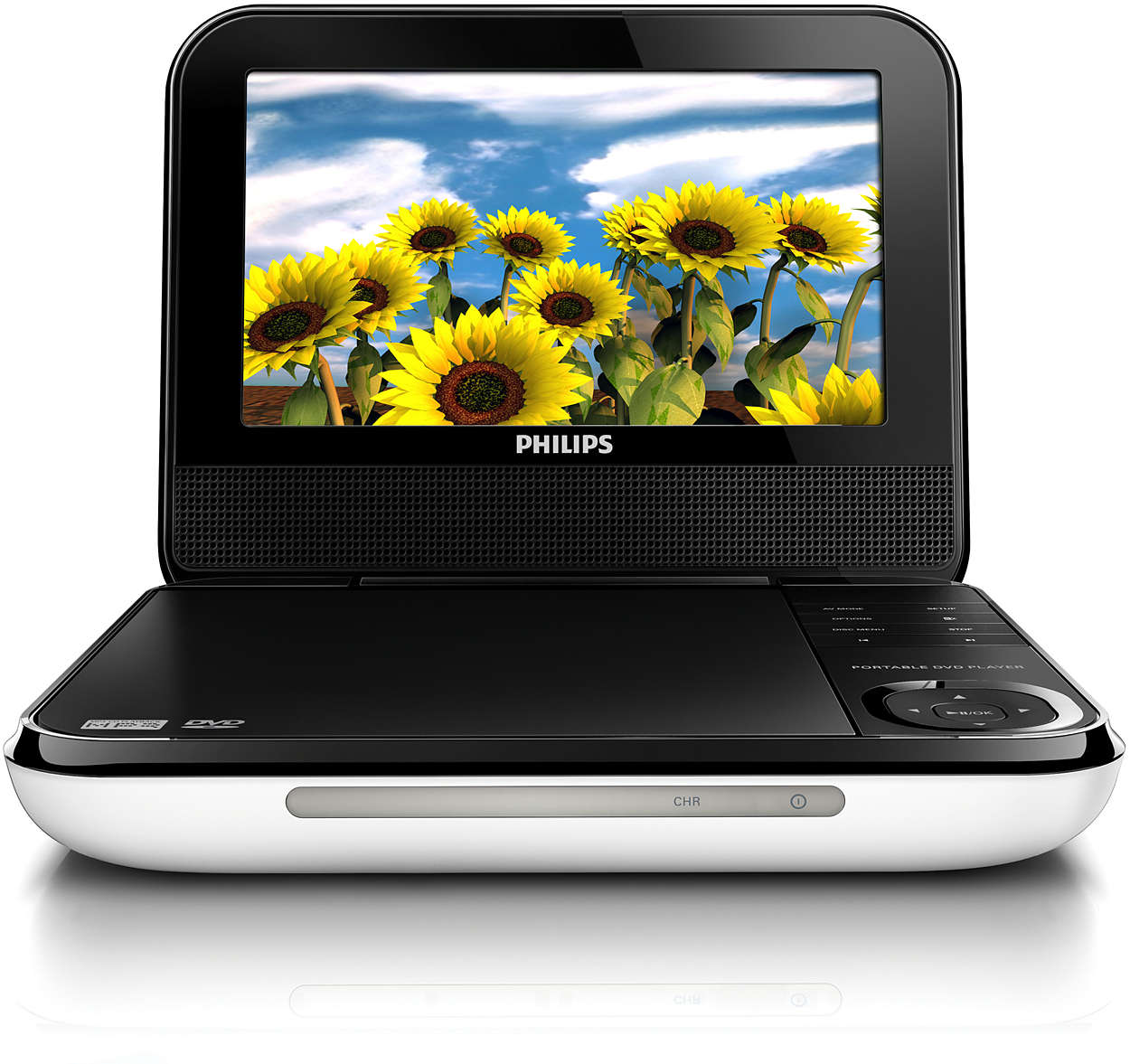 portable dvd player pd700 37 philips. Black Bedroom Furniture Sets. Home Design Ideas