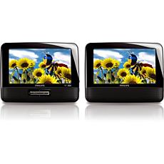 PD7012P/37 -    Portable DVD Player