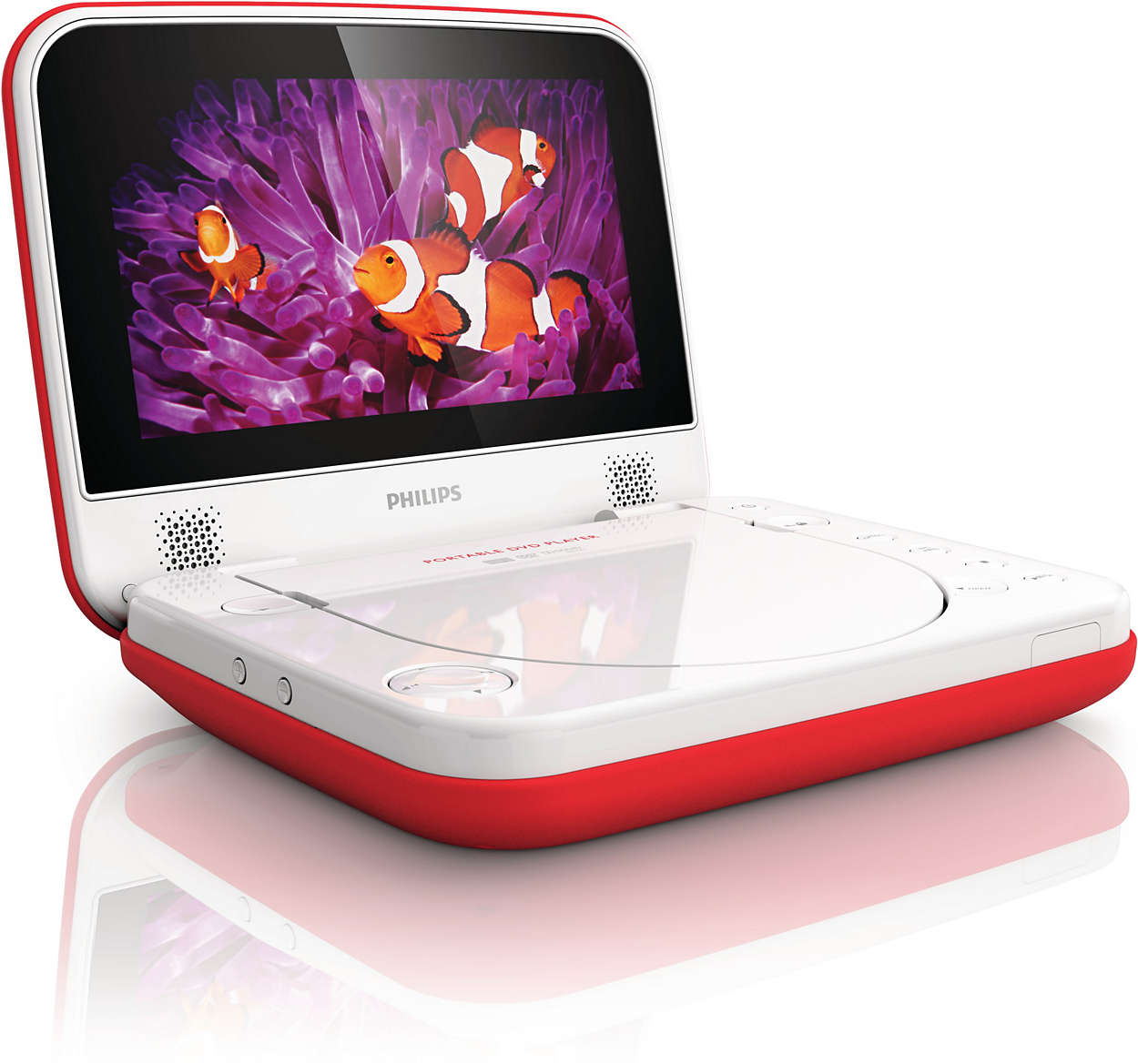 Spill Resistant Portable DVD