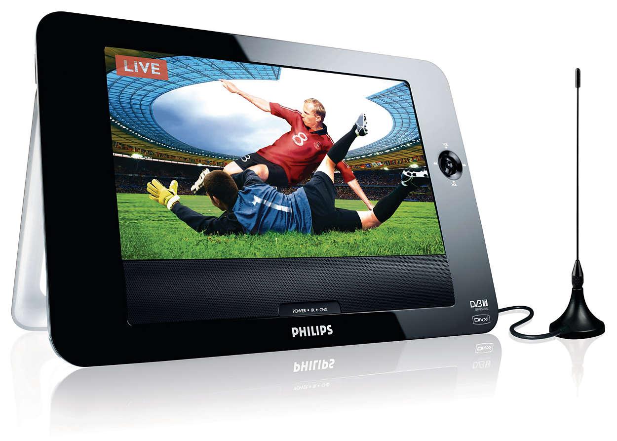 DVD y televisor portátil PD8015/12 | Philips