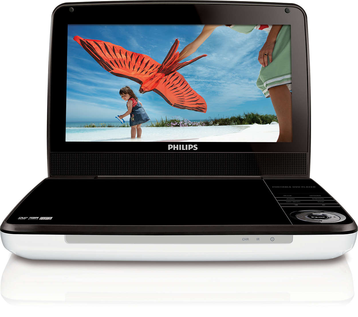portable dvd player pd9000 37 philips. Black Bedroom Furniture Sets. Home Design Ideas