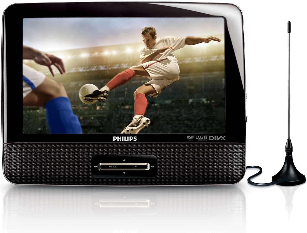 DVD portátil y televisor digital PD9003/12 | Philips