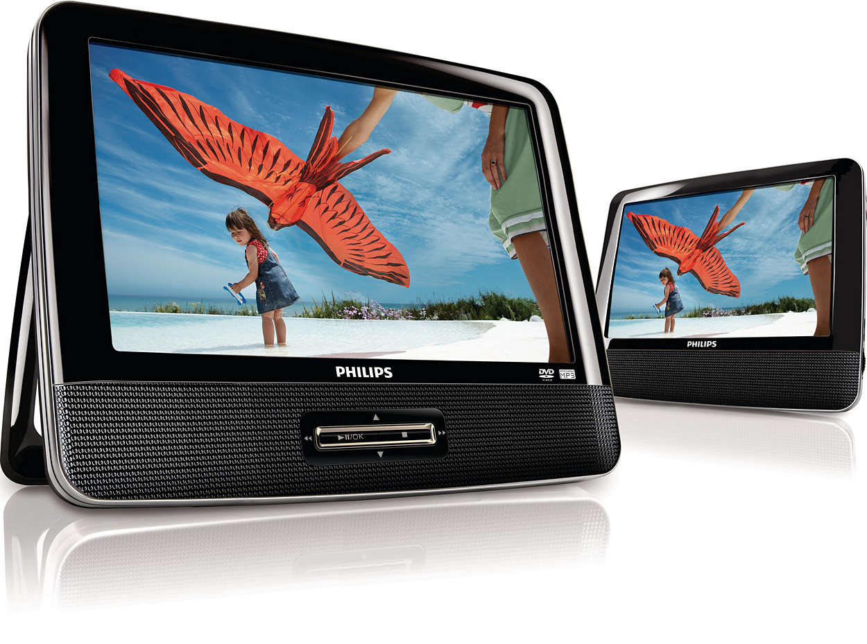 Portable DVD Player PD9012/37 | Philips