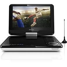 PD9015/12  Téléviseur et lecteur de DVD portable