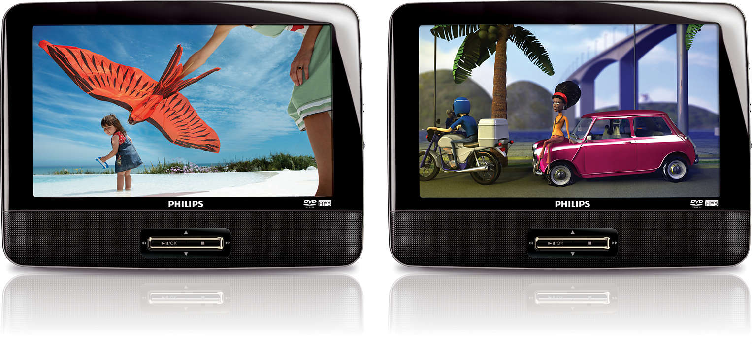 Double your movies on the road