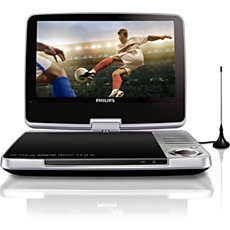 PD9025/12  Portable DVD and digital TV