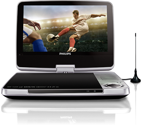 portable dvd and digital tv pd9025 12 philips